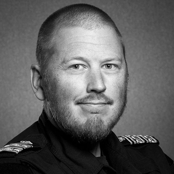 Erik Bakkman, Polisområdeschef Jämtland